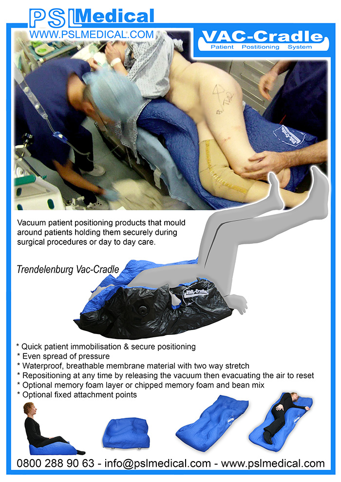 Vac-Cradle - Patient Positioning