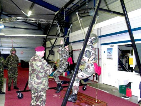 Parachute Regiment Suspended Harnesses